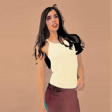 fashion design portrait artwork - sean-caillouette | ello