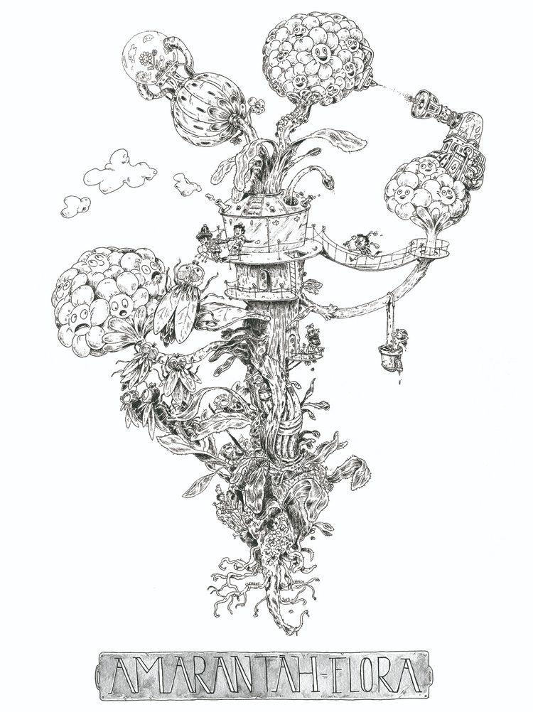 ''Amarantha-Flora'' latest exhi - dclem | ello
