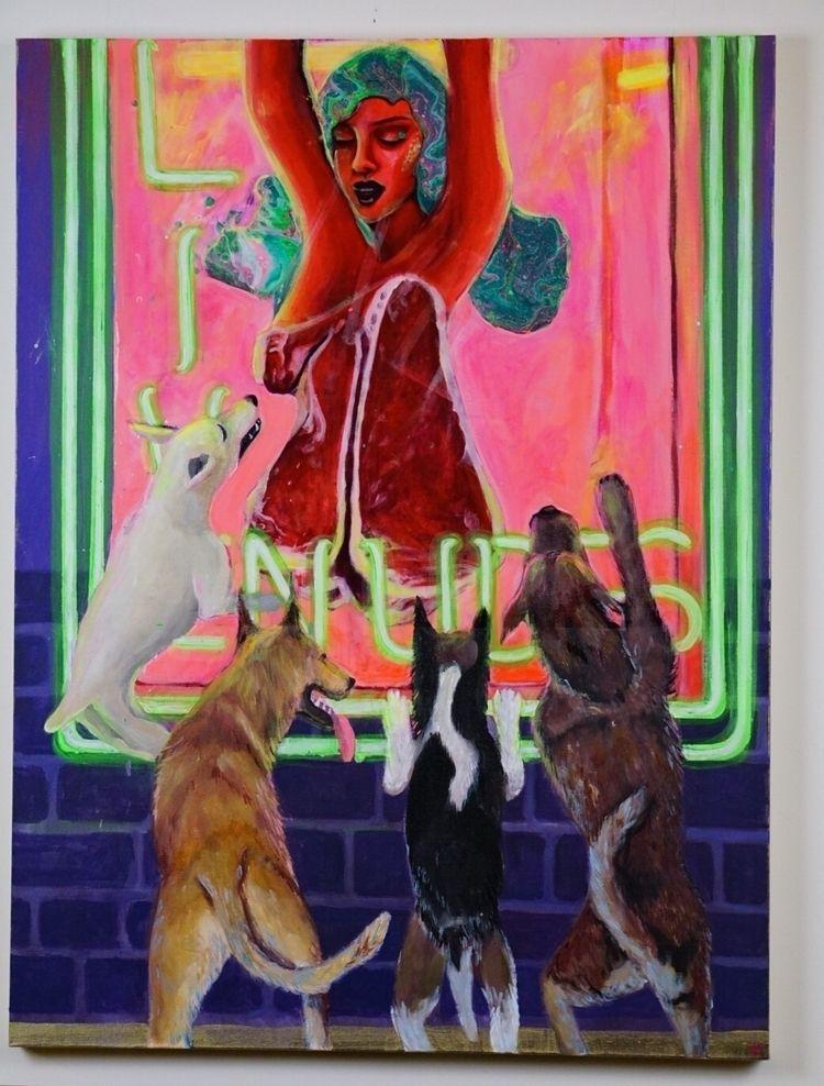 Artist Bio: Dominique Davenport - dominique_art | ello