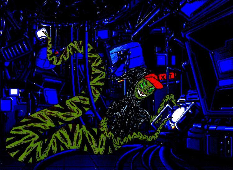 DNA Splicing Party 8 1/2'' 11 - art - timexmachine   ello
