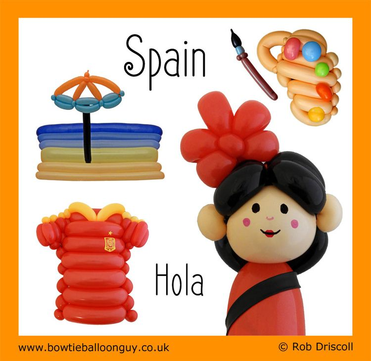 Balloon World - Spain Hola ¿Cóm - magirob | ello