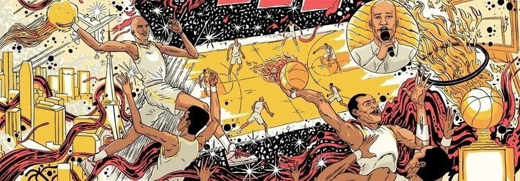 illustration, basketball - louievalley | ello