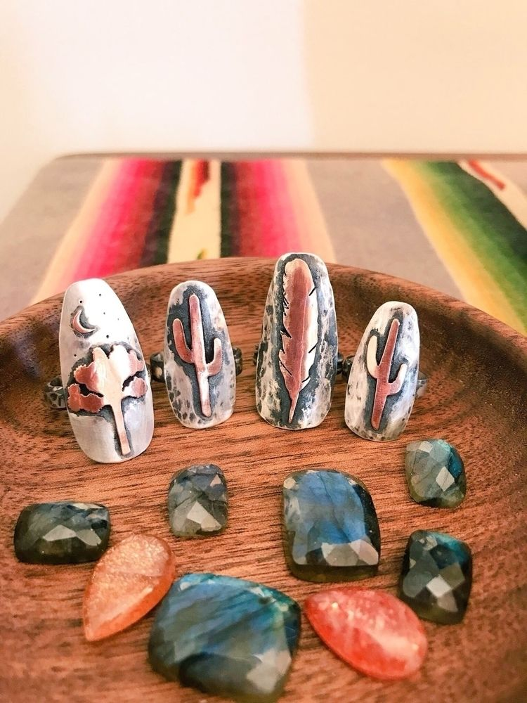 Group shot - desert, artist, silversmith - alderandash | ello