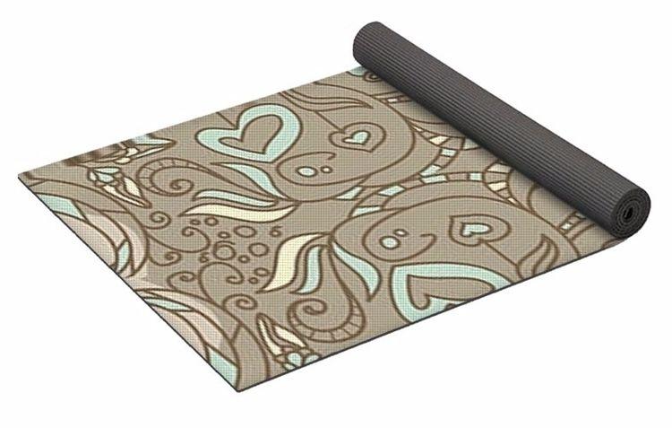 Fairy Smoke 1 Yoga Mat $80 purc - skyecreativeart   ello