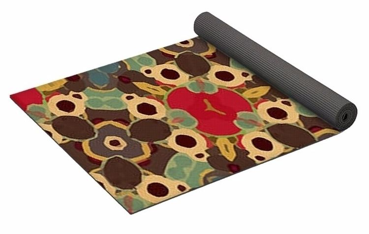 Fruity 1 Yoga Mat $80 purchase - skyecreativeart | ello