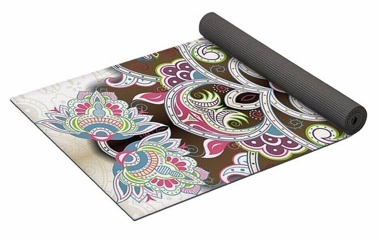 Earthly Delights 2 Yoga Mat $80 - skyecreativeart | ello