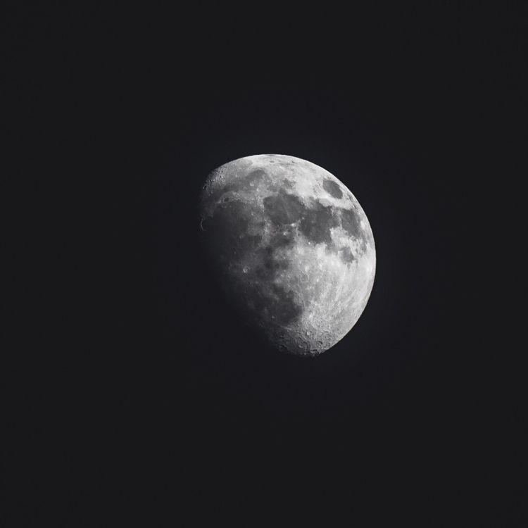 moon - photography, space, canon - brandonsoriano   ello