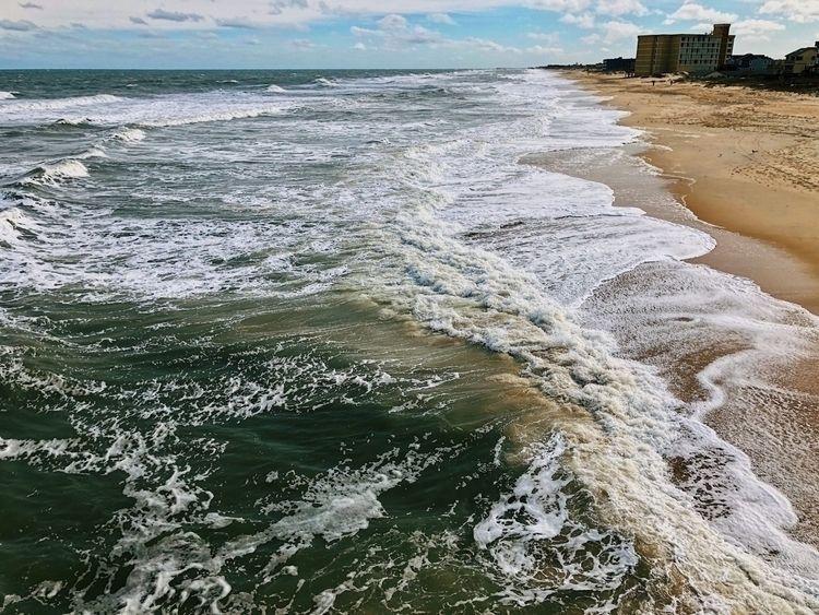 Nags Head, NC - ocean, waves, water - oscillatingchristal | ello