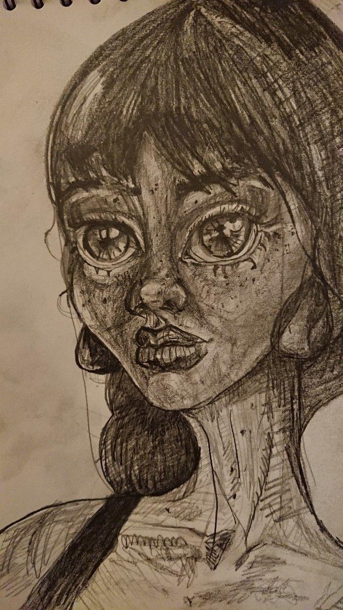 doll, sketch, sketching, imagination - major_town | ello
