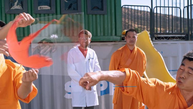 Mira este Monje Shaolin perfora - codigooculto | ello