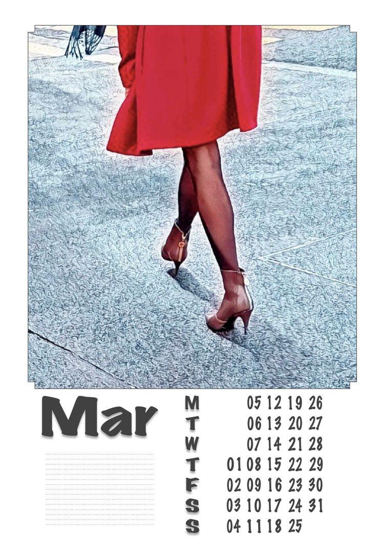 March - Legs, Heels, Photography - ziolele | ello