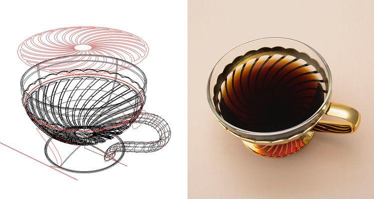CAD product. Thalia coffee tea  - jamesowendesign | ello