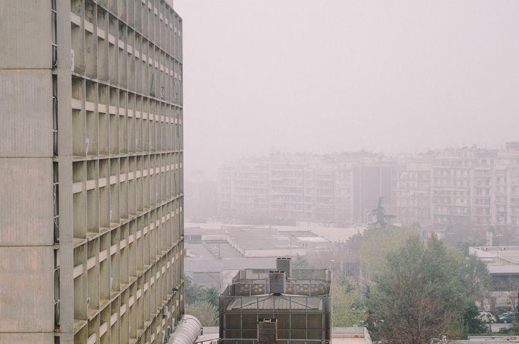 fog, modernism,, architecture - object-e | ello