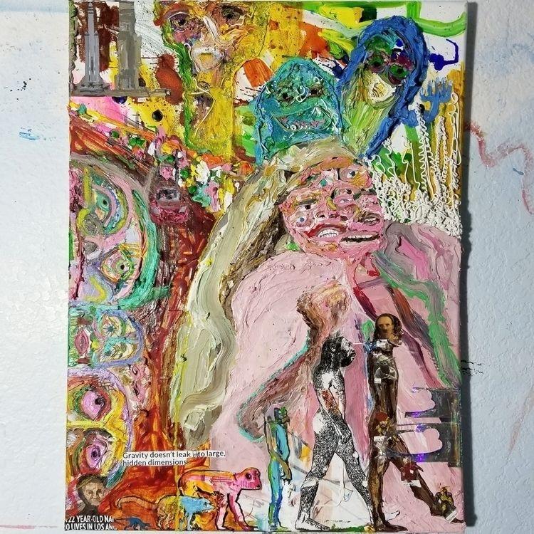 18x24 canvas. Gravity leak larg - andrewchristensen | ello