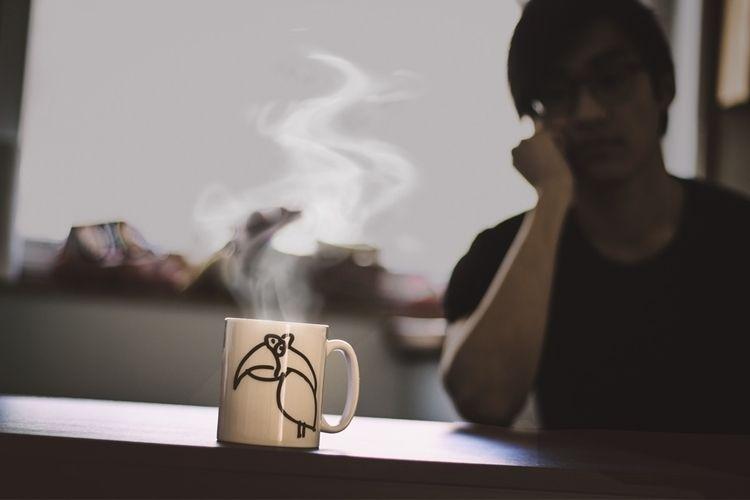 waiting coffee cool - _quanh_n | ello