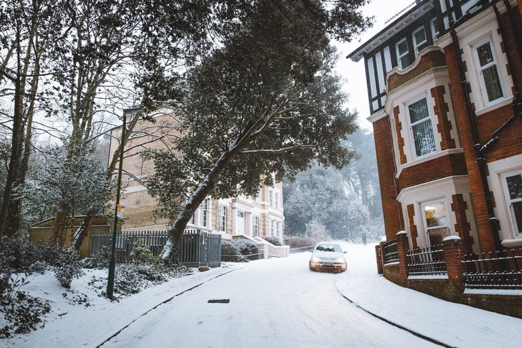 Snow storm Bournemouth - photography - domreess | ello
