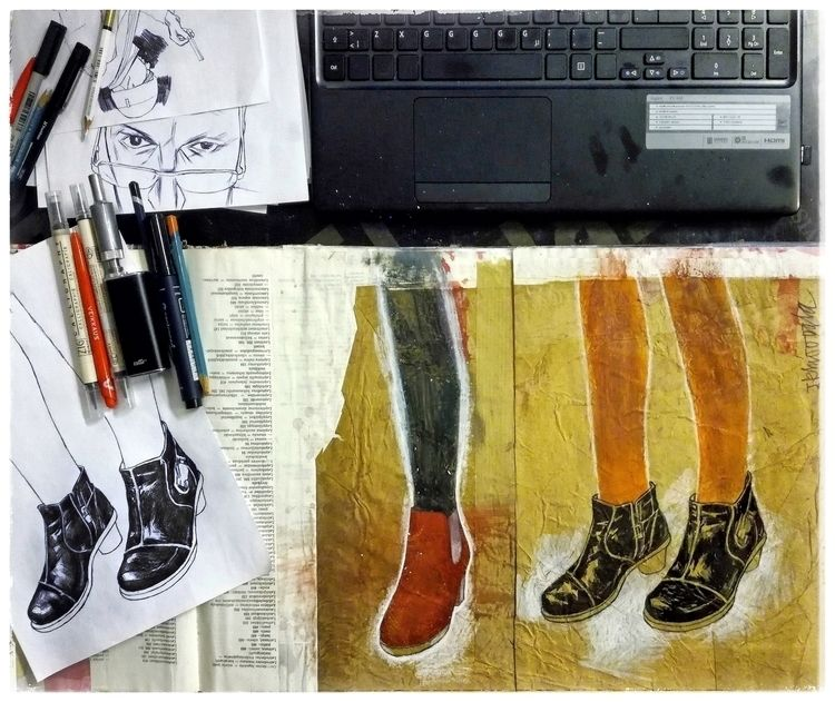 art, junkohanhero, draw, paint - junkohanhero | ello