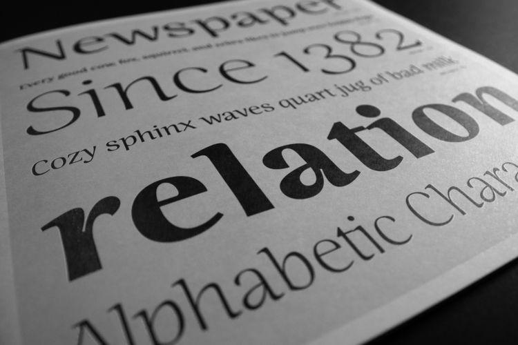 Ninfa modern semi-serif, charac - eduilsoncoan | ello