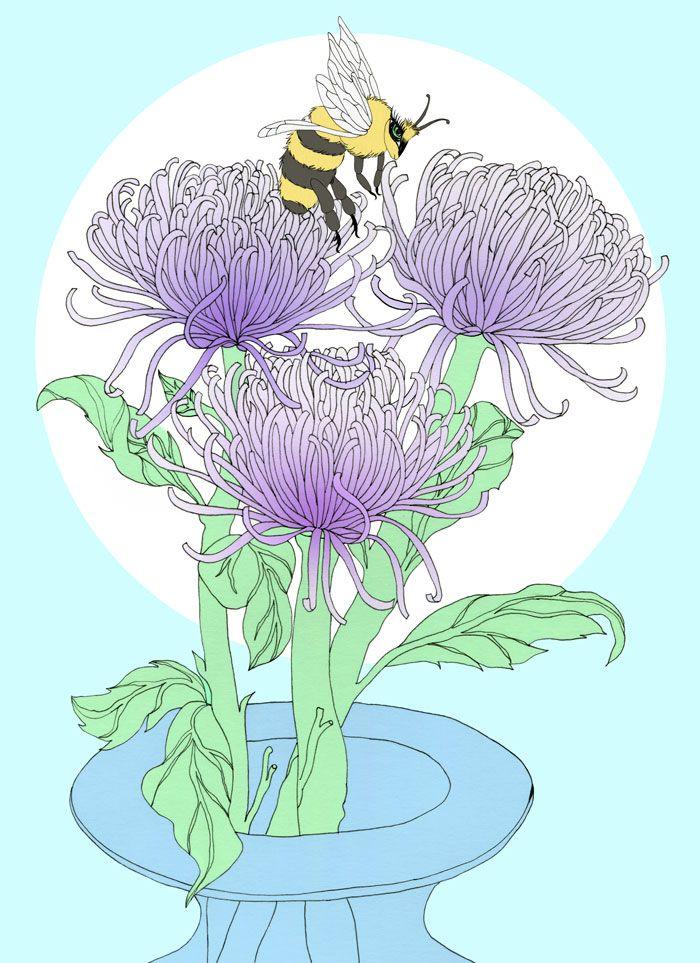 chrysanthemums - vanniapalacio | ello