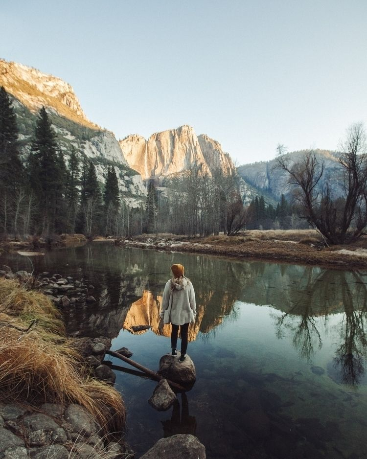 Winter Yosemite - yosemite, nature - zackburas | ello
