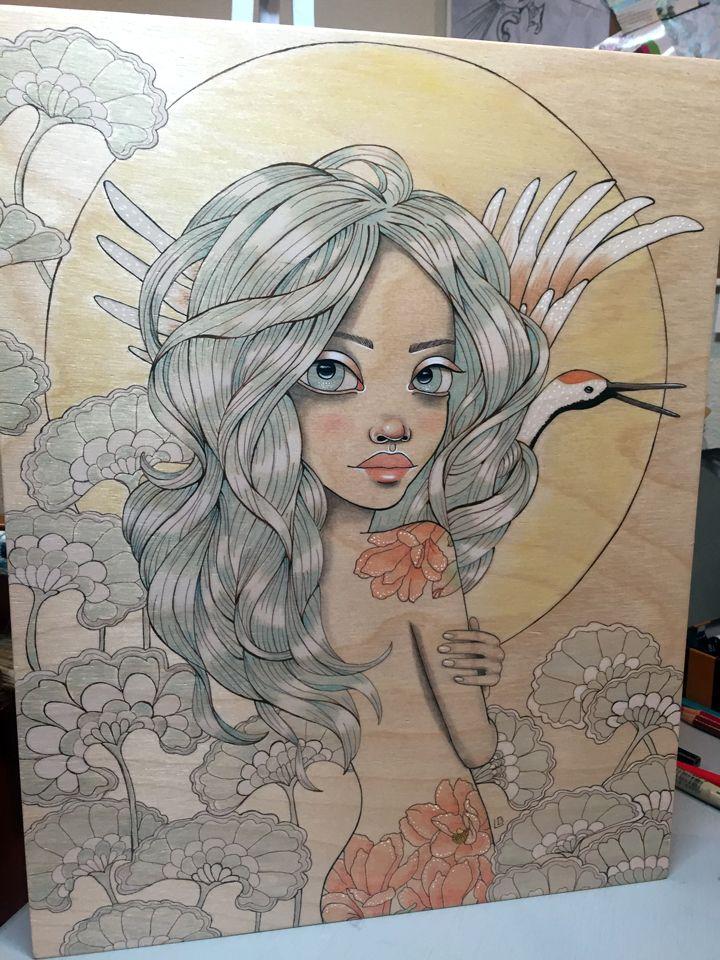 piece, Rising Crane upcoming Ve - leabarozzi | ello