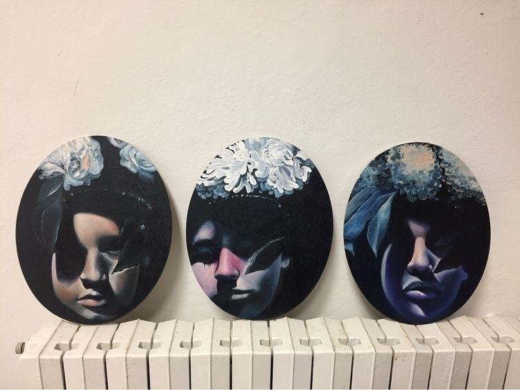 oil works  - oiloncanvas, portraits - fede_poletti | ello