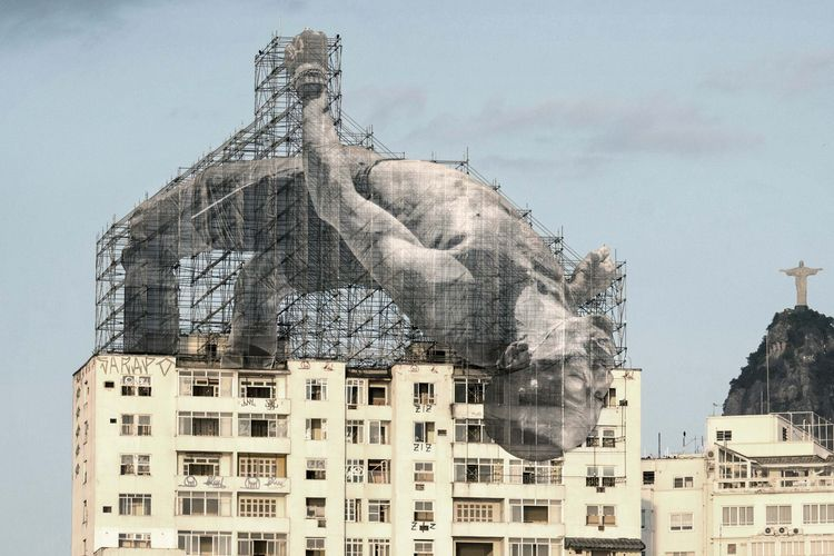 Artworks JR - art, streetart, contemporaryart - inag | ello