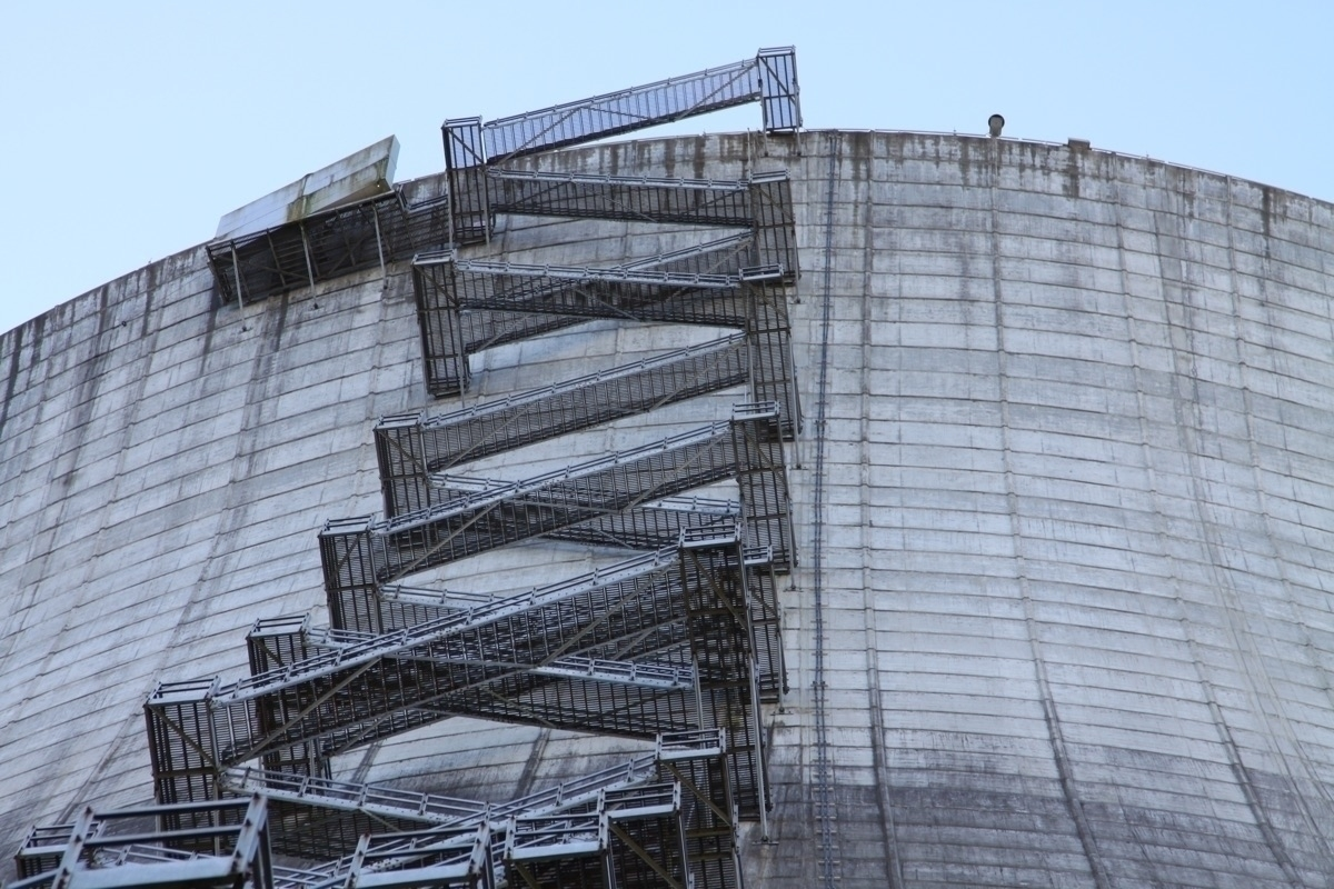 Cooling tower 3 - nuclear, photography - coalbreaker | ello