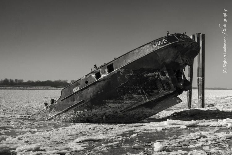 Shipwreck inland waterway craft - slaakmann   ello