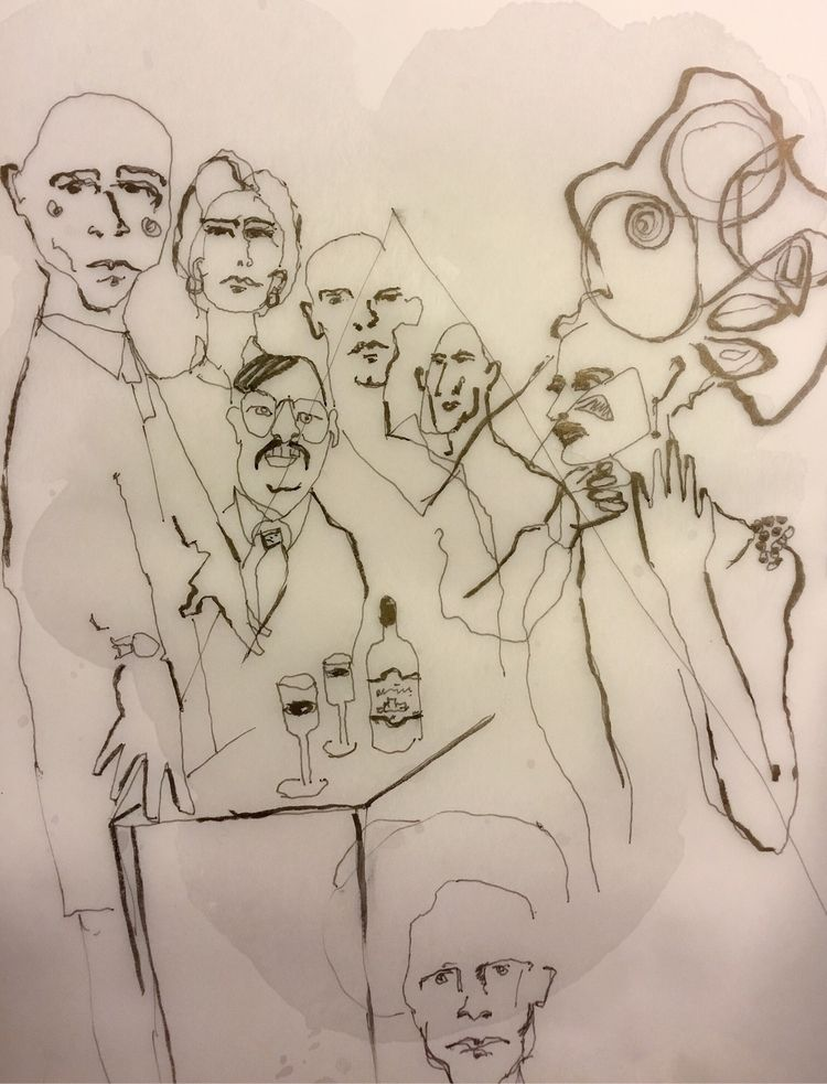 Sketches - inkycubans | ello