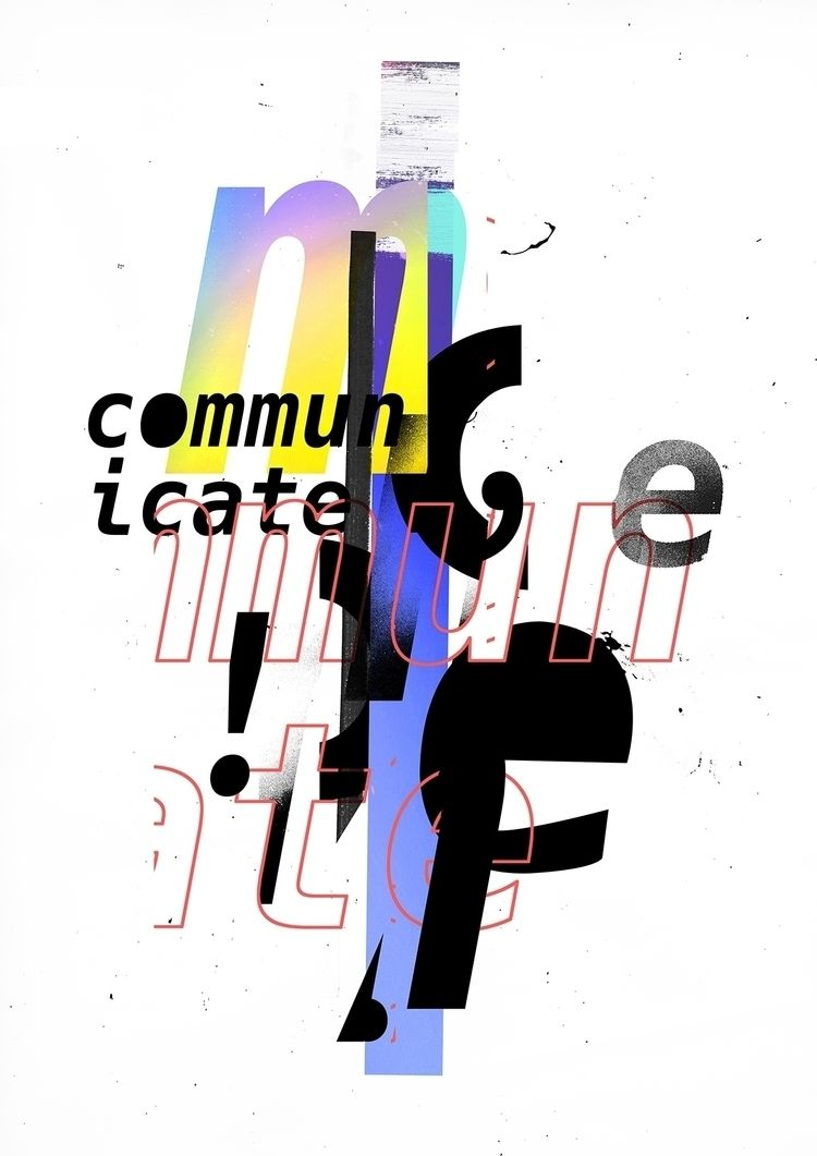 COMMUNICATE 2018, personal work - phlppm | ello