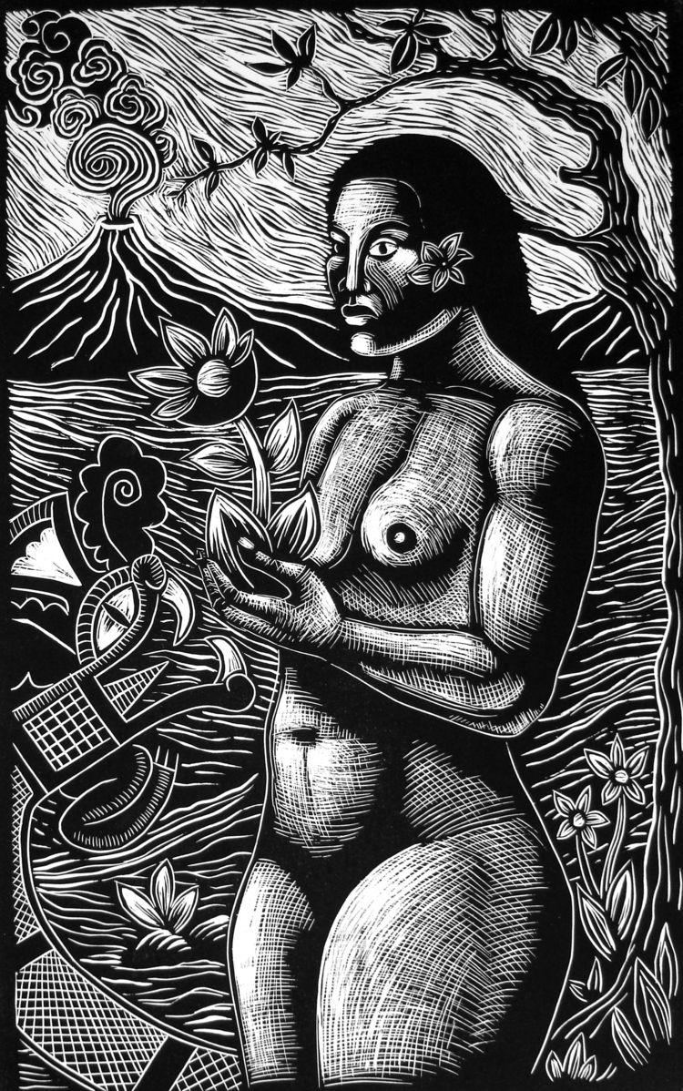 Ofrenda /Offering Gauguin) Lino - carlosbarberena | ello
