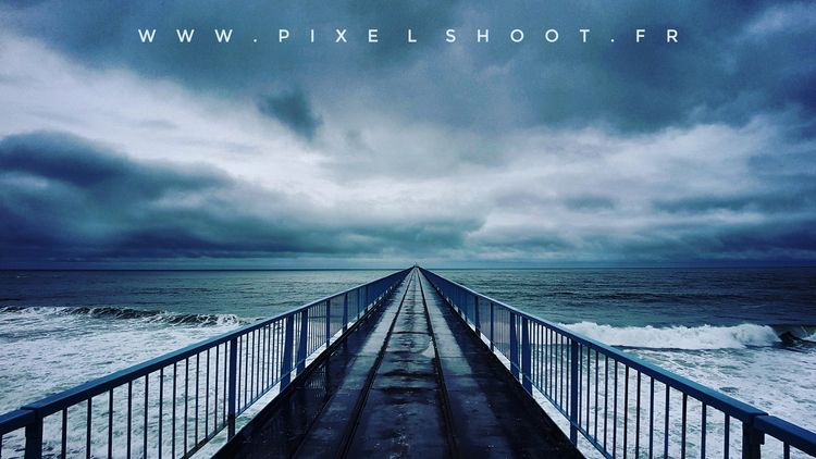 ocean, cloud, blue, colors, pixelshoot - pixelshoot | ello