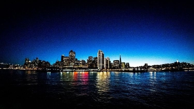 Blue Hour Bay - photography, cityscape - ronindusette | ello