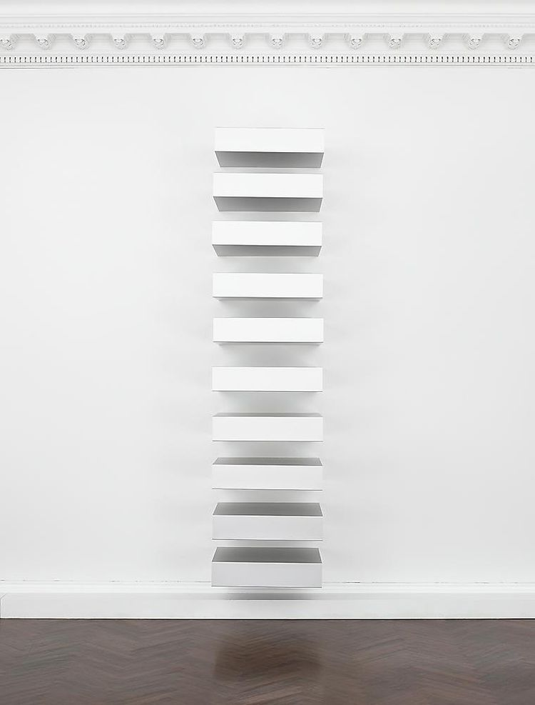 - donald judd - bluevertical | ello