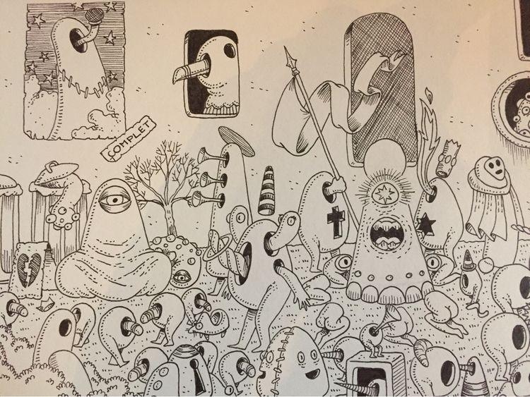 Forts part big - illustration, art - jimmy-draws   ello