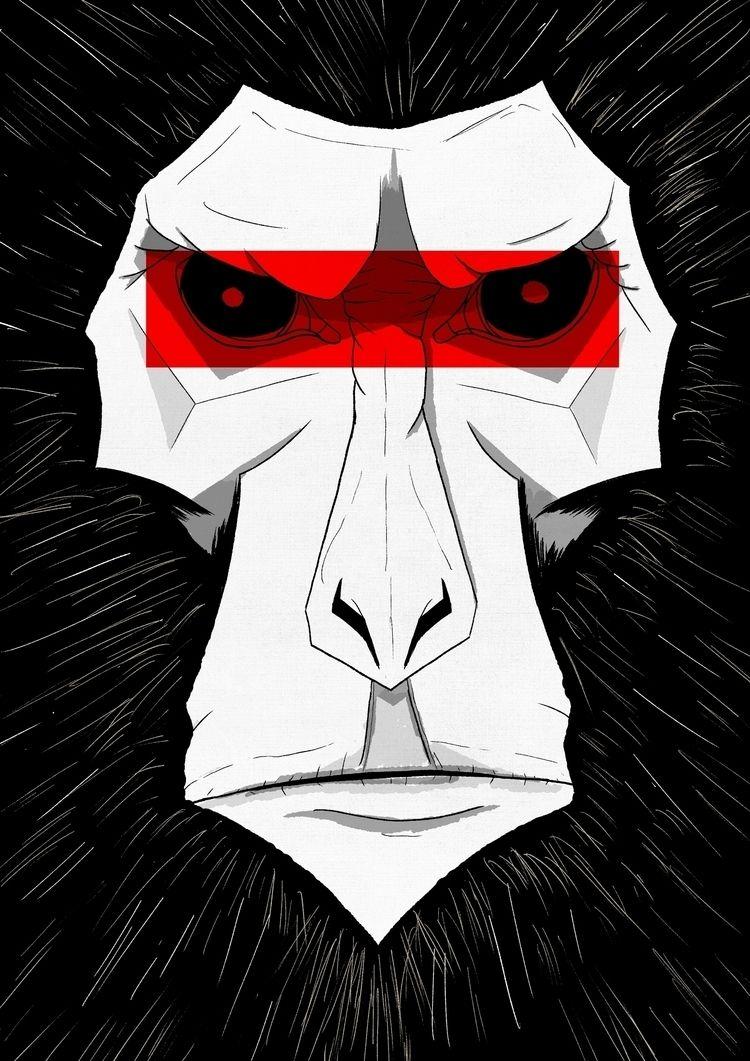 Monkey #illustration #comicb - selametalkan   ello
