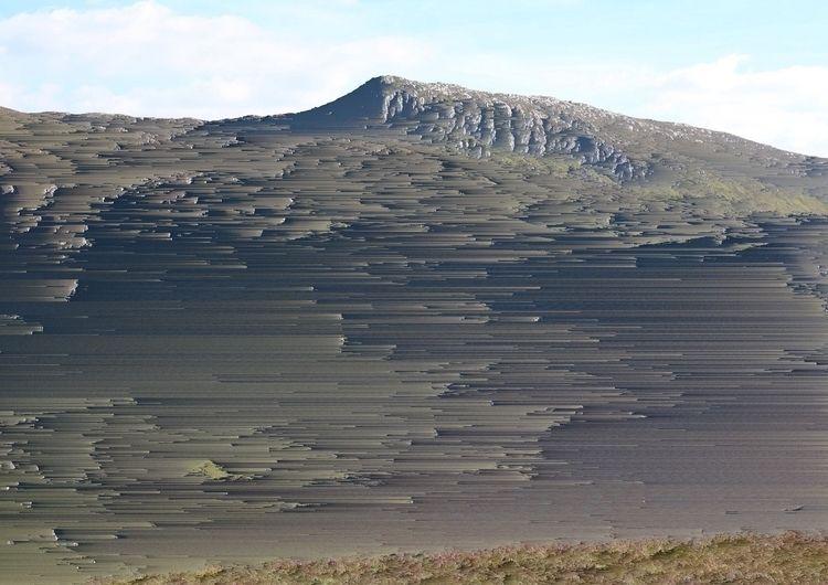 Mountain Pixel Sorting Graphics - joshyknowles | ello