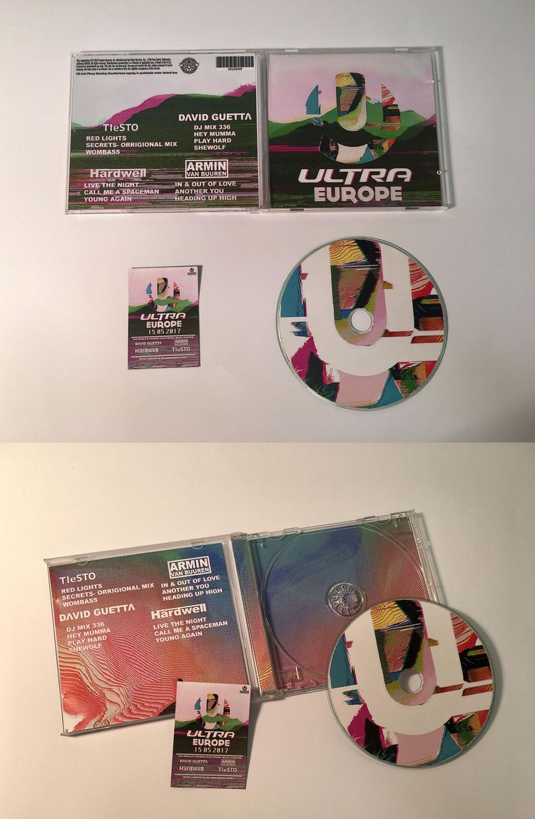 CD Design Ultra Festival Graphi - joshyknowles | ello