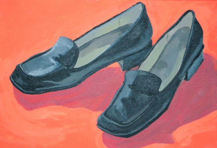 paint pictures favorite shoes r - angela_oliver_art | ello