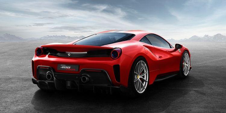 Ferrari 488 Pista successor V8 - evlear   ello