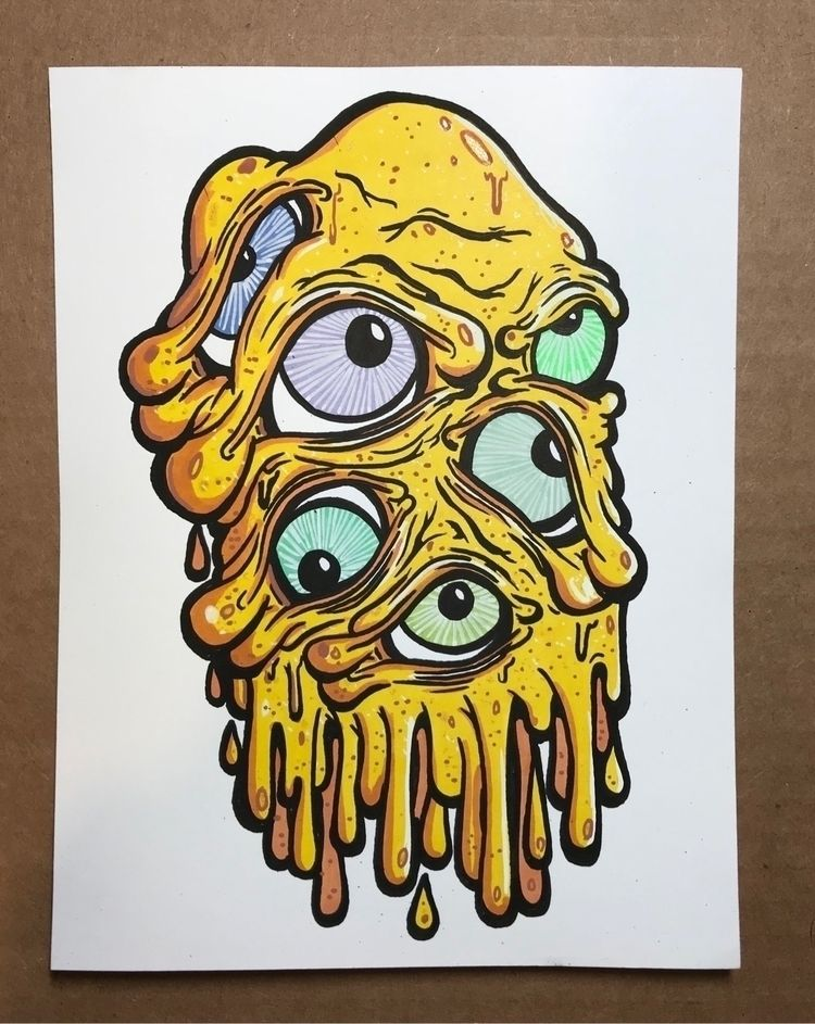 Blob Mannn! $25 shipped sticker - magical | ello