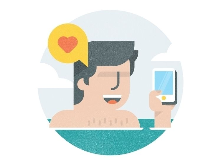 Vacation Days - Design,character,icon,illustration - mudshock | ello