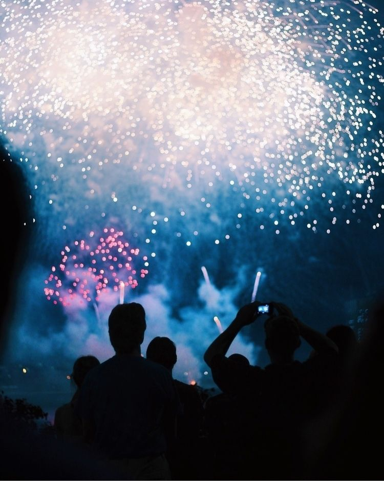 fireworks, nyc, 50mm - sadtape | ello