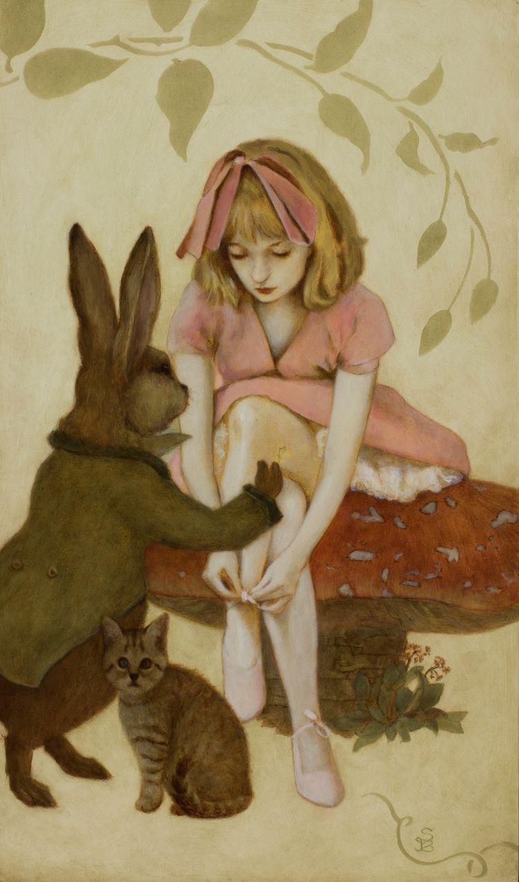 Mushroom Girl Deirdre Sullivan - deirdresullivanbeeman | ello