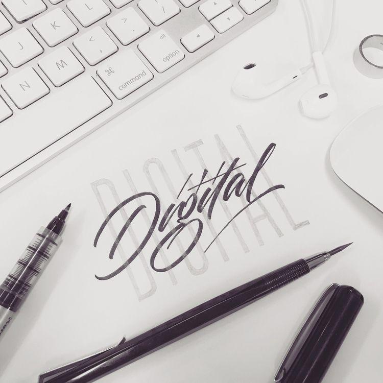 mural completed - lettering, typography - mattvergotis | ello