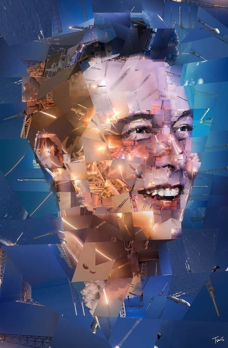Elon Musk: rocket man Mosaic po - tsevis | ello
