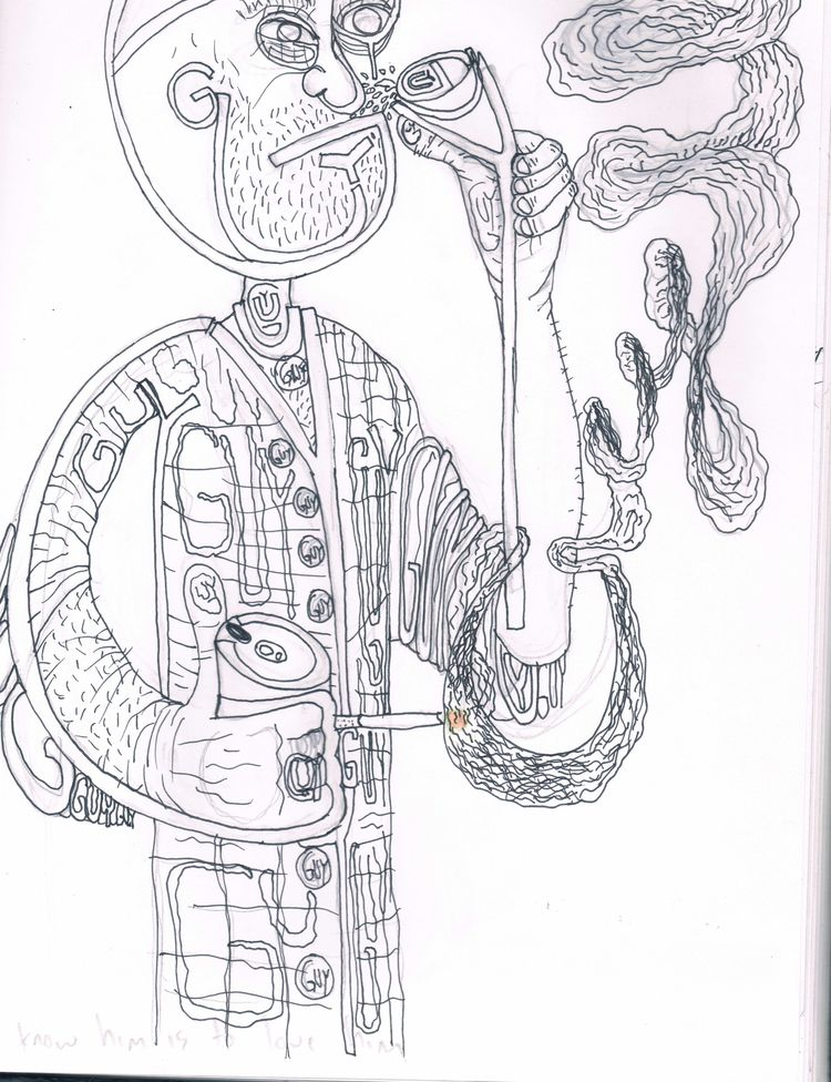 portrait Guy, family members - drumnmike | ello