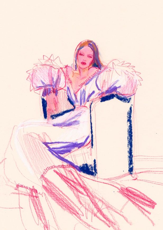 Sketching long time - pastelsketch - michellepam | ello