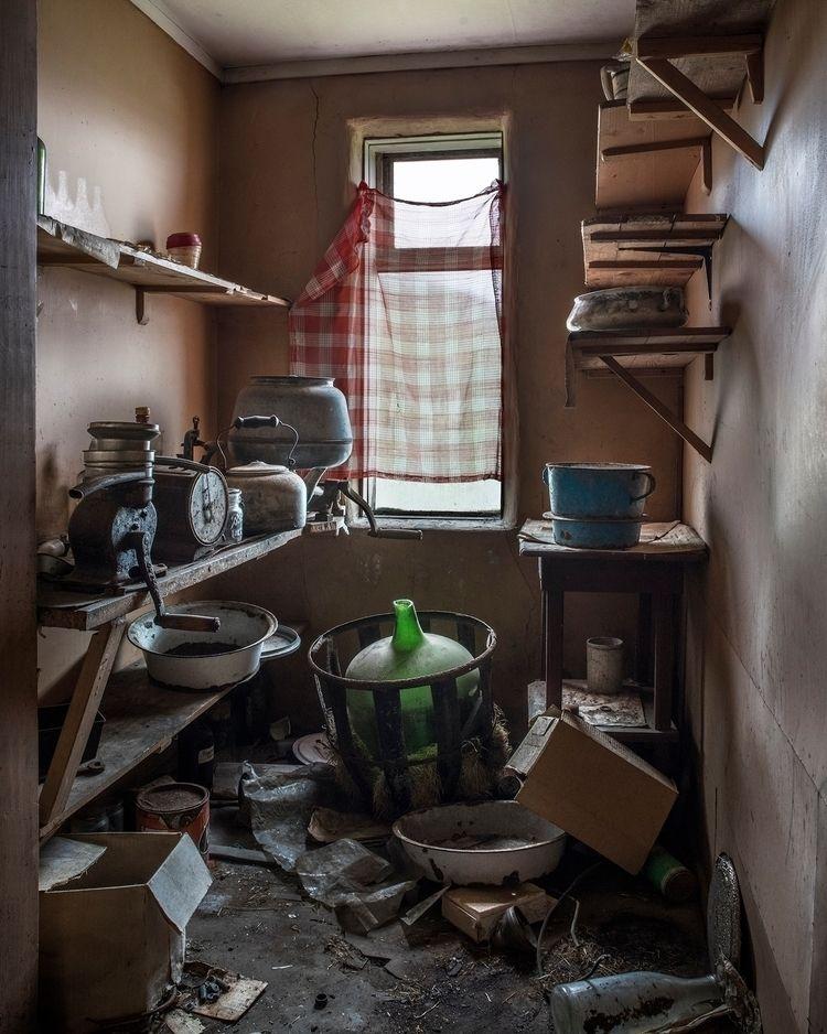 chaotic store room long abandon - forgottenheritage | ello